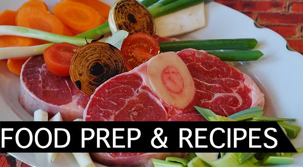 FOOD PREP AND EXTRA RECIPES